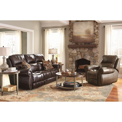 Flexsteel Latitudes - Maxwell Power Reclining Living Room Group