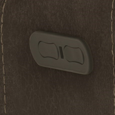 Toggle Switch Controls Recline and Headrests