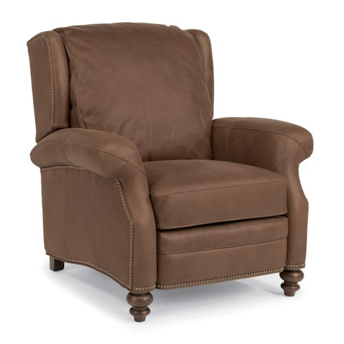 Flexsteel Latitudes - Wallace Traditional Power High Leg Recliner