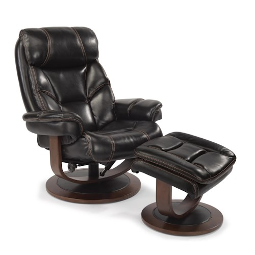 Flexsteel LatitudesWest Modern ZeroGravity Reclining Chair and – Reclining Chairs with Ottomans