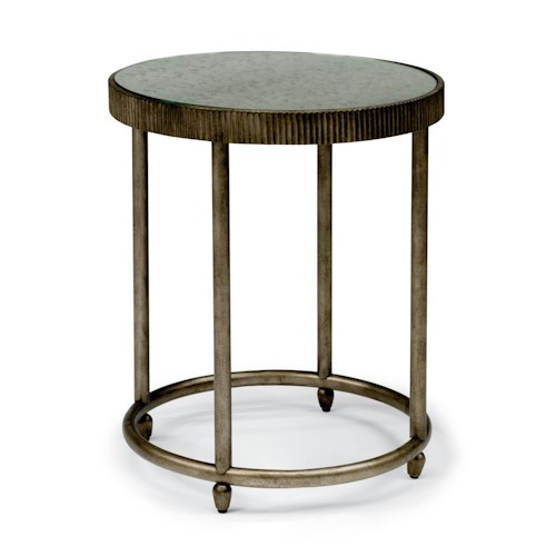 Flexsteel Legacy Transitional Chair Side Table