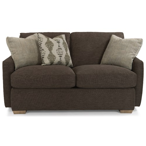 Flexsteel Michelle Casual Loveseat