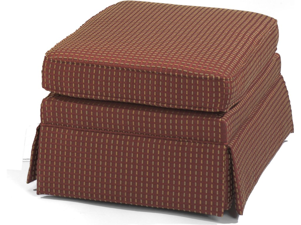This Ottoman is Available in Over 1000 Different Fabrics