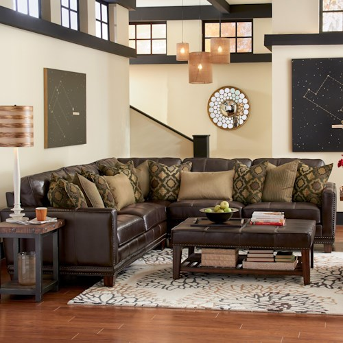 Flexsteel Latitudes - Port Royal Three Piece Sectional Sofa
