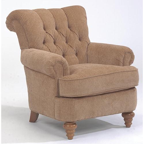 Flexsteel South Hampton Tufted Back Chair