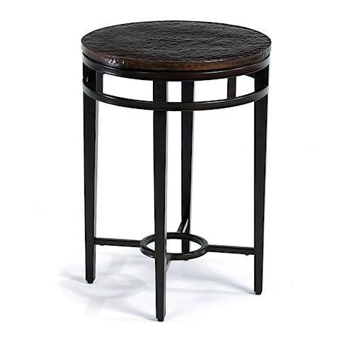 Flexsteel Symphony Chairside Table