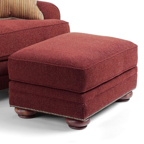 Flexsteel That's My Style <b>Customizable</b> Ottoman