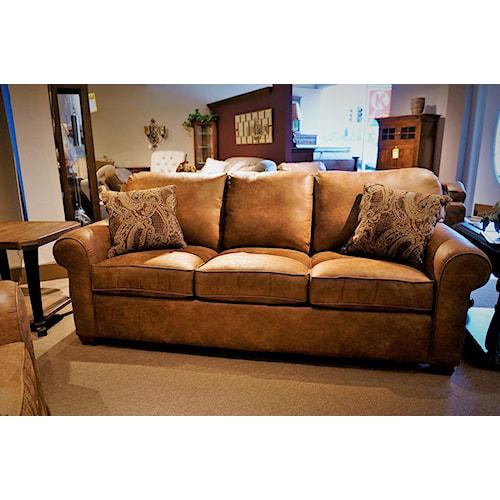 Flexsteel Thornton  Stationary Upholstered Sofa