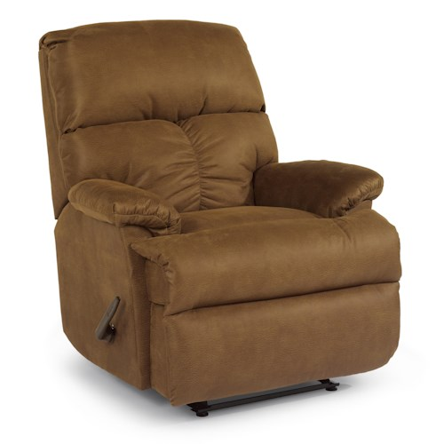 Flexsteel Triton  Wall Recliner with Chaise Seating