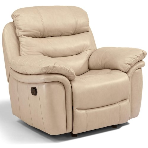 Flexsteel Latitudes - Westport Casual Power Recliner with Bucket Seat