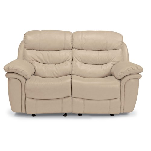 Flexsteel Latitudes - Westport Casual Double Reclining Loveseat