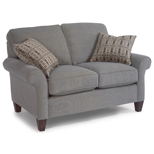 Flexsteel Westside Casual Style Loveseat
