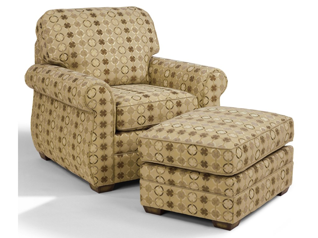 Shown with Chair Ottoman