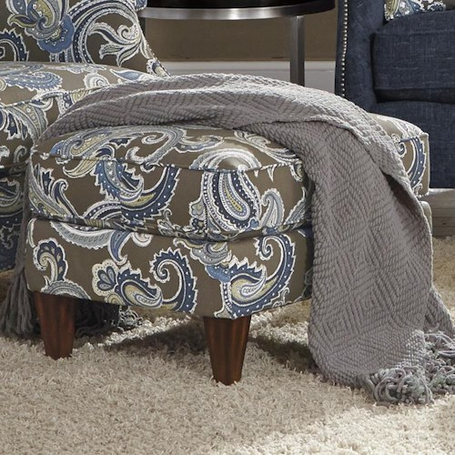 Flexsteel Zevon Transitional Ottoman