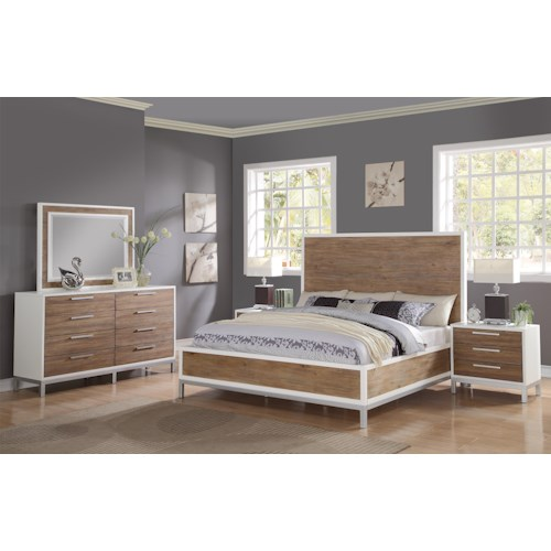 Flexsteel Wynwood Collection Oslo Queen Bedroom Group