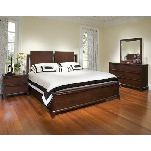 Morris Home Furnishings Corinth King Storage Bed