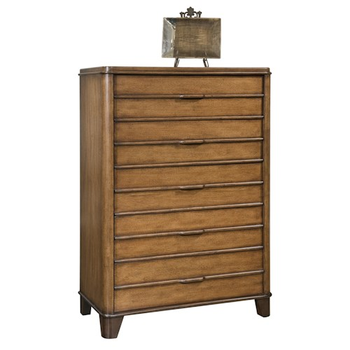 Morris Home Furnishings Wilmington Casual 5-Drawer Chest