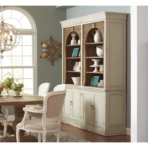 Four Hands Durham Stanford China Cabinet with 6 Shelves