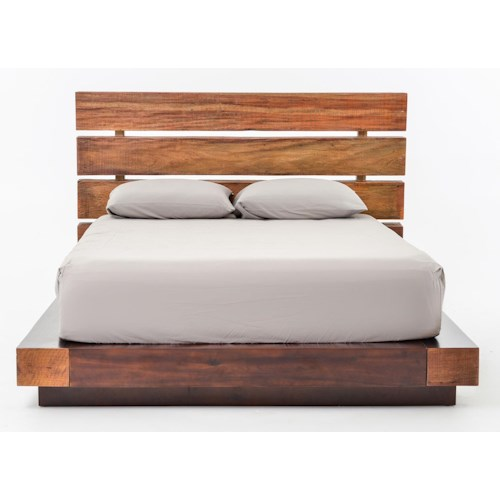 Four Hands Bina Iggy Reclaimed Wood Queen Bed