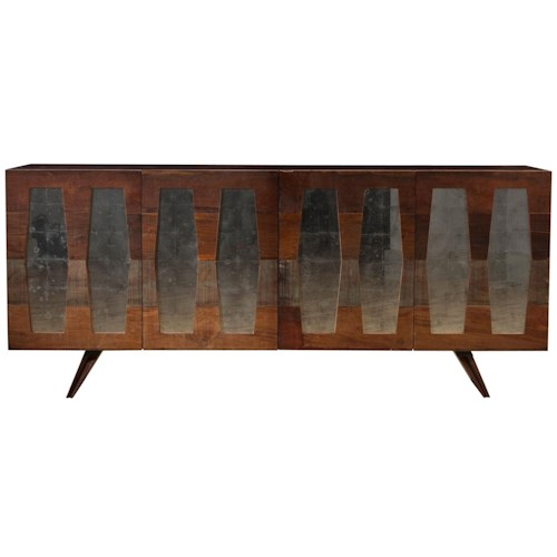 Four Hands Bina Morgan Console with 4 Doors