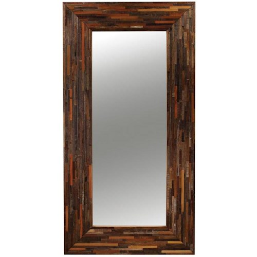 Four Hands Bina Tall Floor Mirror w/ Wide Frame