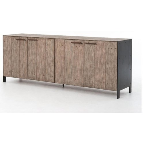 Four Hands Bina Dom Sideboard with Driftwood Finish