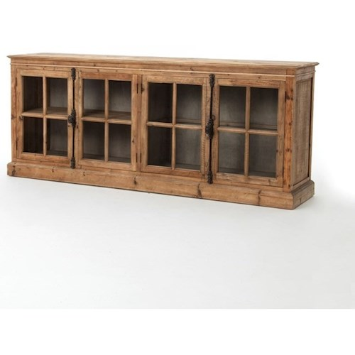 Four Hands Durham Monaco Sideboard-Bleached Pine