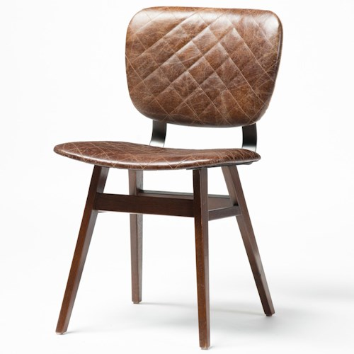 Four Hands Irondale Sloan Dining Chair with Quilted Upholstery