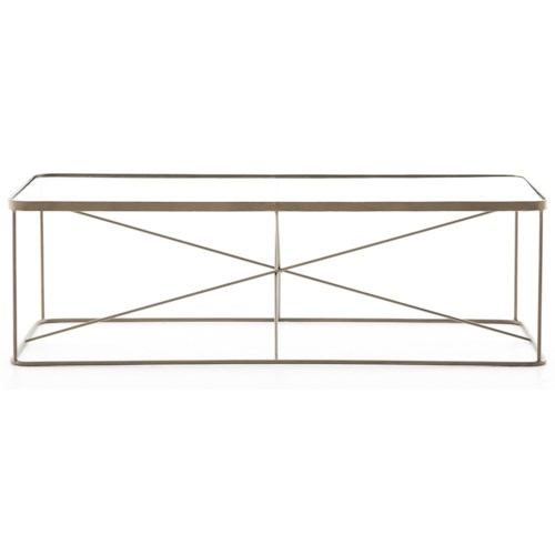 Four Hands Marlow Lucas Geometric Coffee Table