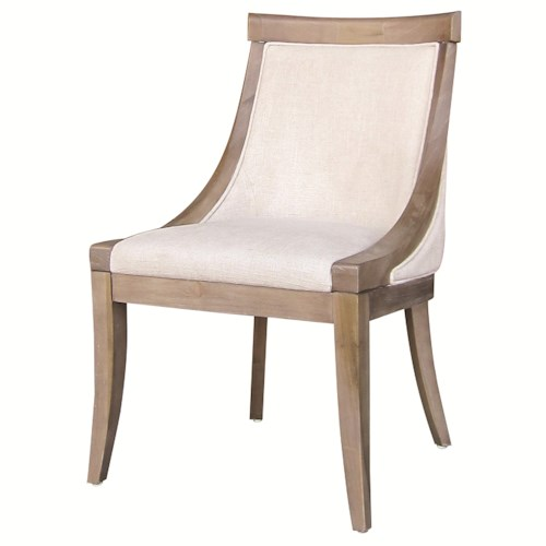 Four Hands Metro Florence Dining Side Chair with Splayed Legs