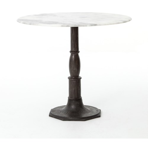 Four Hands Rockwell Lucy Bistro Table-Carbon Wash