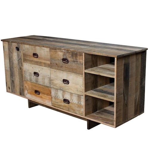 Four Hands Sierra Whitney Sideboard with 6 Drawers