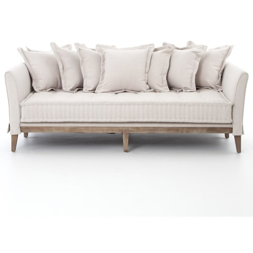 Four Hands Theory Light Sand Day Bed Sofa