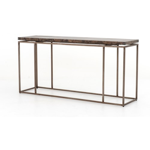 Four Hands Wesson Roman Console Table