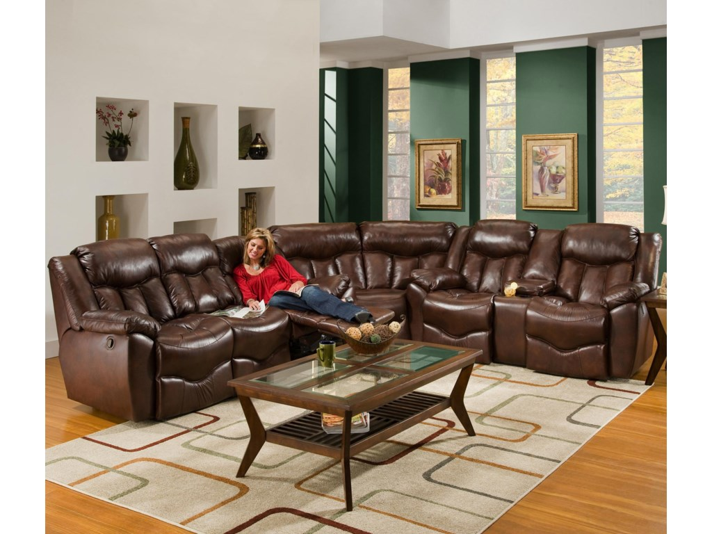 Shown as Part of Sectional Sofa
