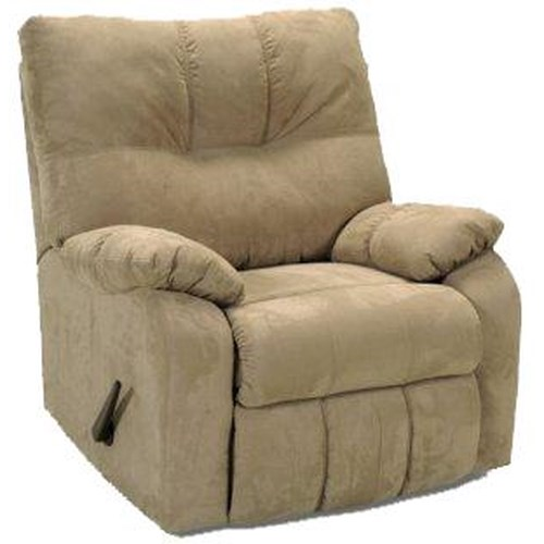 Franklin 565 Rocker Recliner with Pillow Arms