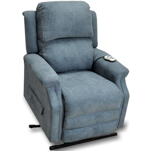 Franklin Arthur Casual Just Your Size Lift Recliner with Track Arms up to 5'3