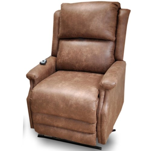 Franklin Arthur Casual Just Your Size Lift Recliner with Track Arms 5'9 and Up