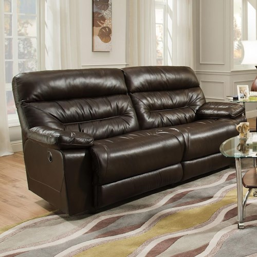 Franklin Domino Reclining Sofa (2 Seat)