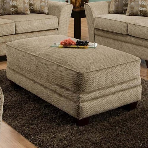 Franklin 811 Ashland Ottoman for Living Room Relaxation