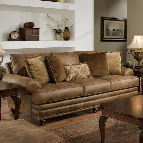 Franklin 817 Traditional Stationary Sofa