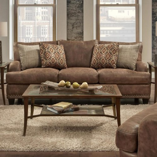 Franklin 848 Sofa with Traditional Style