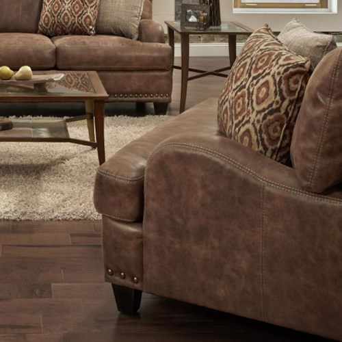 Franklin 848 Chair with Traditional Style