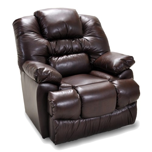 Franklin Manhandler Comfortable Recliner with Extra Plush Padded Cushions