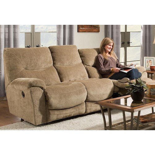 Franklin Calloway Reclining Sofa with Comfortable