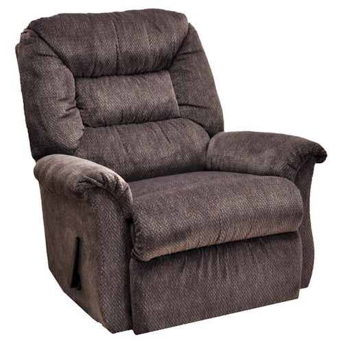 Franklin Rocker Recliners Chaise Rocker Recliner with Casual Furniture Style