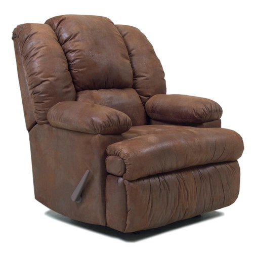 Franklin Rocker Recliners Casual Recliner with Dual Heat and Massage
