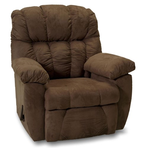 Franklin Rocker Recliners Chase Rocker Recliner with Pillow Arms