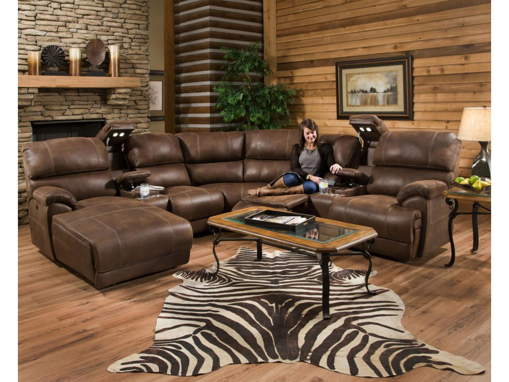 Sectional Sofa May not Represent Exact Features Indicated