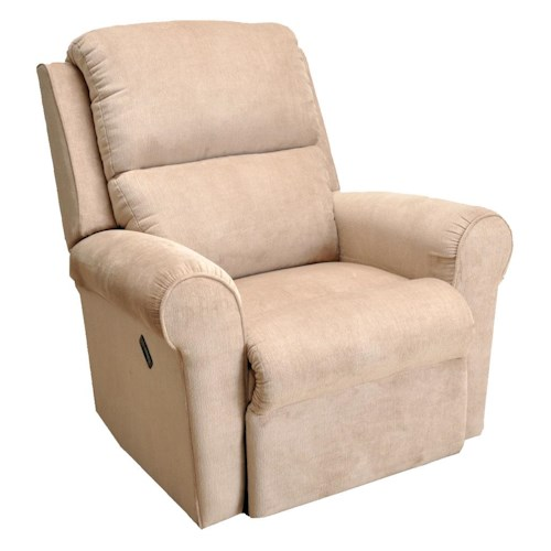 Franklin Franklin Recliners Infinity Wall Proximity Recliner with Rounded Arms